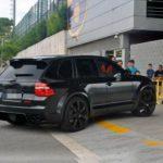 Eric Abidal – Porsche Cayenne ENCO Exclusive