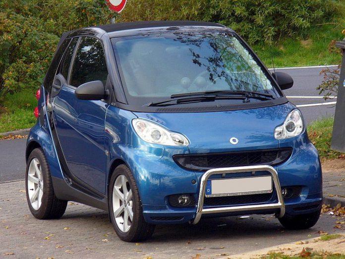 Una Smart ForTwo cabrio