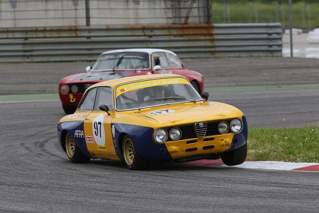 Uno scatto dell'Alfa Revival Cup