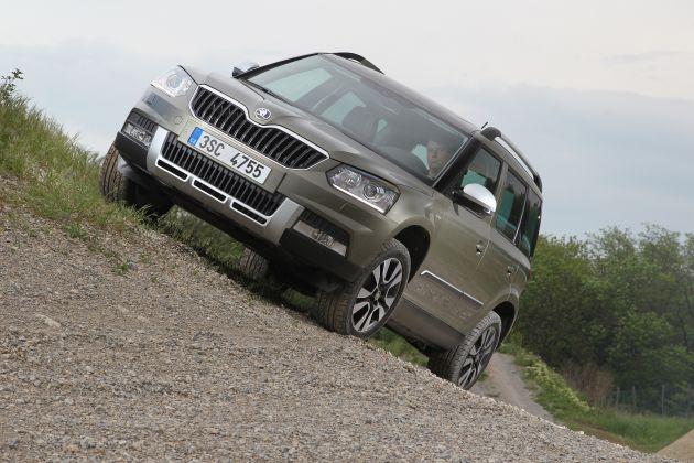 Skoda Yeti 2015: in arrivo le nuove motorizzazioni Euro 6