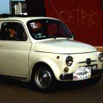 Una vecchia Fiat 500