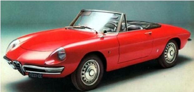 Alfa Romeo Spider Duetto - Il Laureato
