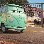 """Il furgoncino Volkswagen """"Bulli"""" riprodotto in Cars"""