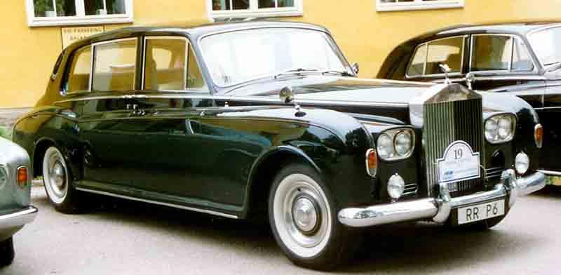 Una Rolls Royce Phantom