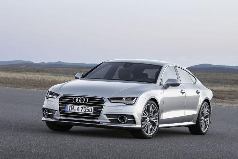 Nuova Audi A7 Sportback: in arrivo le motorizzazioni a quattro cilindri