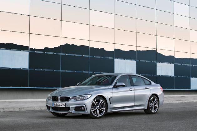 Nuova BMW Serie 4 Gran Coupé 2015: in arrivo la versione 418i a tre cilindri