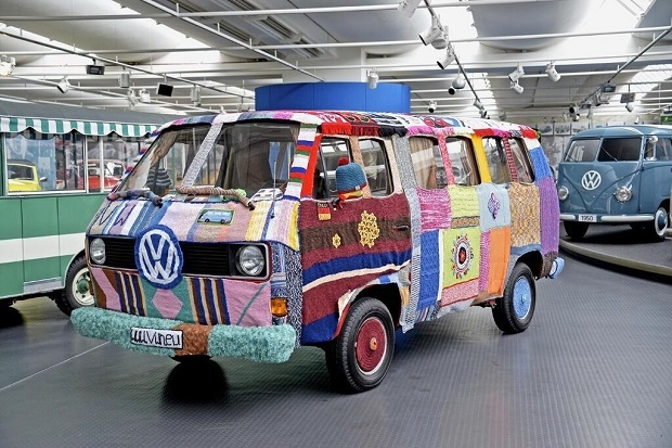 Il furgoncino Volkswagen