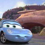 La Porsche Carrera 911 riprodotta in Cars (Sally)
