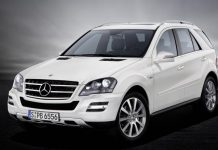 Una Mercedes classe M