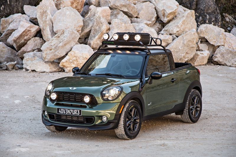 Mini Paceman Adventure scheda tecnica