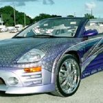 Mitsubishi Eclipse Spyder 2001 - Fast and Furious