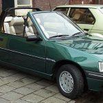 La Peugeot 205 cabriolet