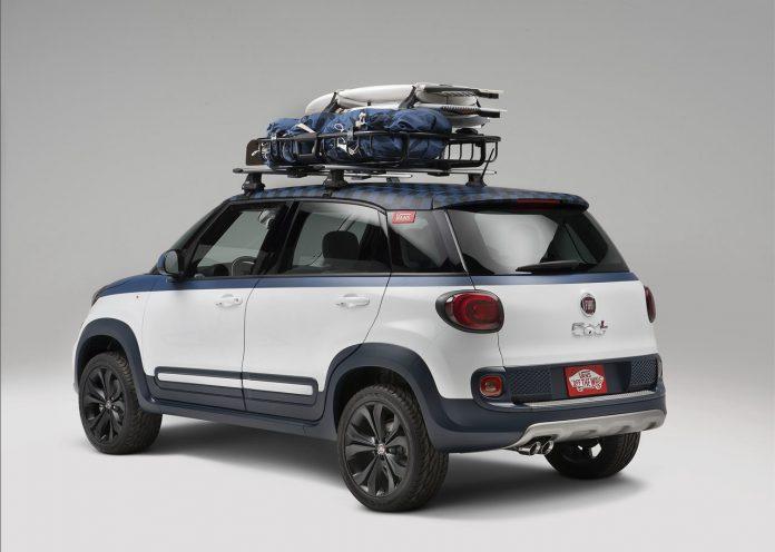 La Fiat 500L dedicata ai surfisti