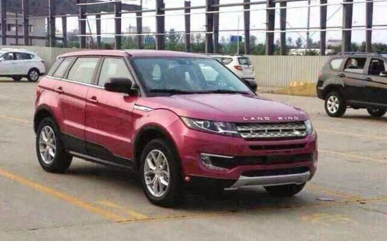 Landwind X7: in arrivo la versione cinese della Range Rover Evoque