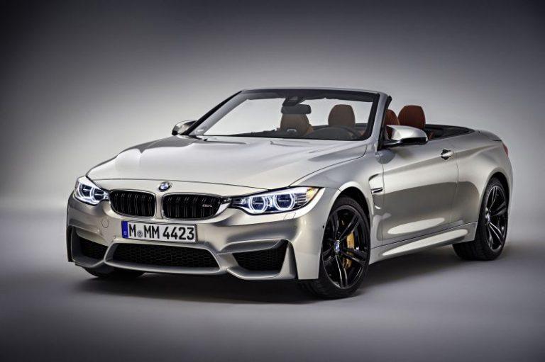 Nuova BMW M4 Cabrio: massima sportività a cielo aperto