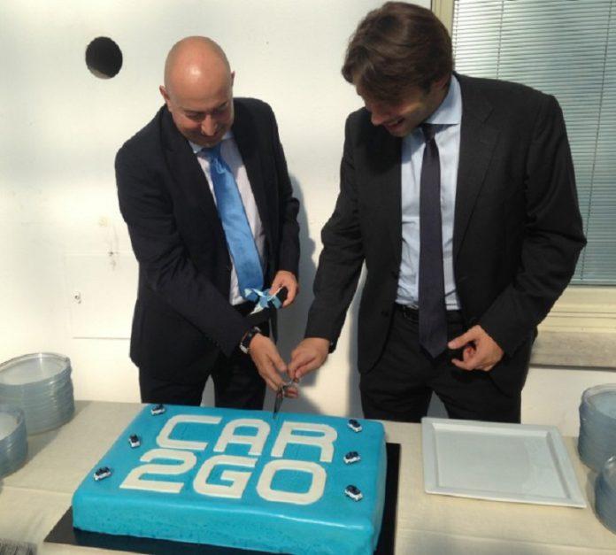 Torta speciale per il compleanno di Car2go