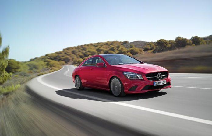 Mercedes CLA Model Year 2015
