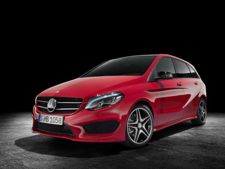 Mercedes Classe B 2015: prezzo, dimensioni e scheda tecnica