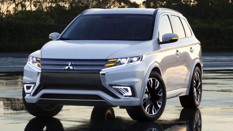 Nuova Mitsubishi Outlander PHEV: la concept car Concept-S