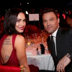 L'attrice Megan Fox con Brian Austin Green