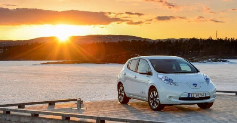 Nissan Leaf, auto elettrica n.1 in Norvegia