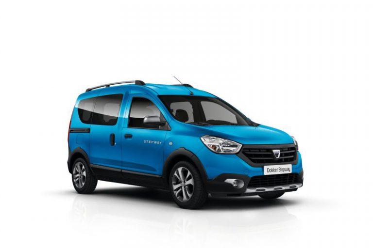 Dacia: la nuova versione Stepway per i modelli Lodgy e Dokker