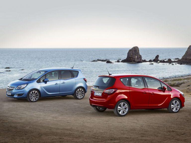 Opel: forme da crossover per le nuove Meriva e Zafira