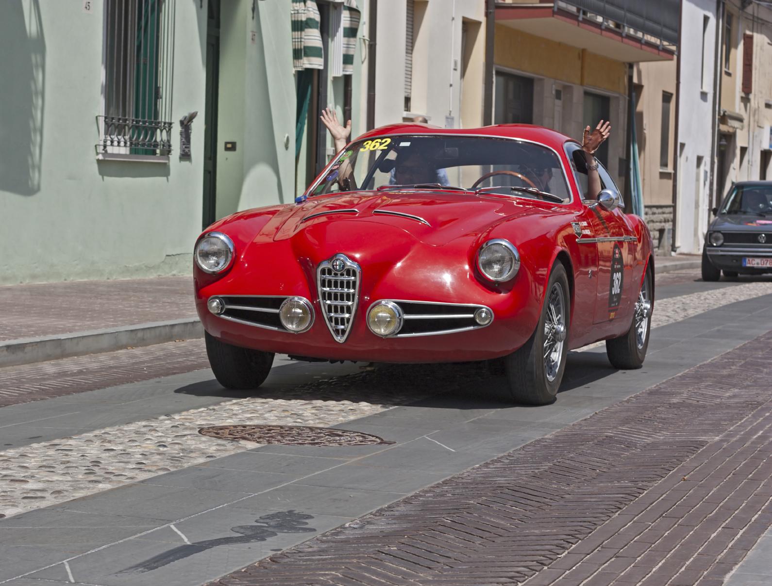 Alfa Romeo 1900C Sprint, 1957