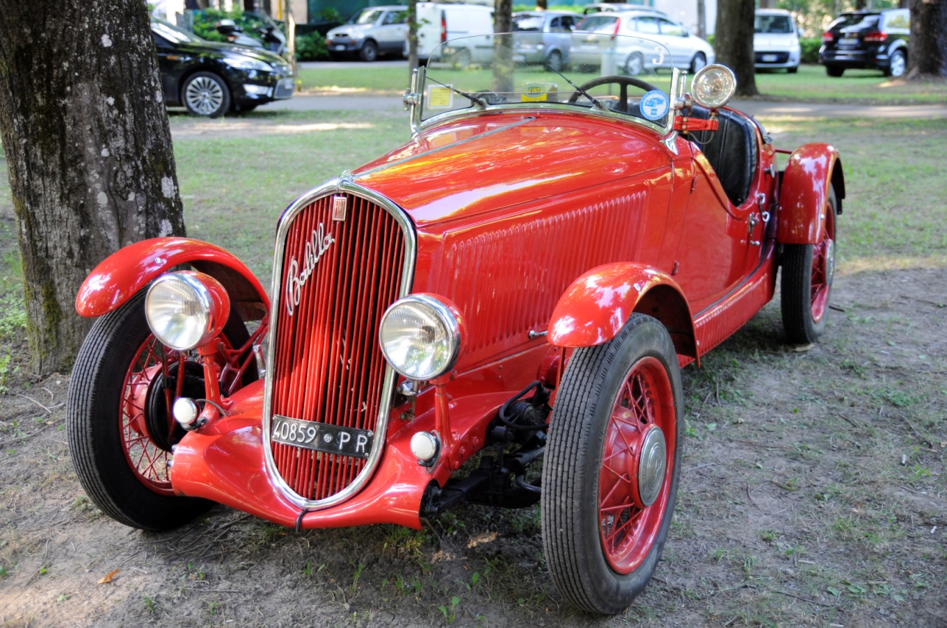 Fiat Balilla Coupé, 1935