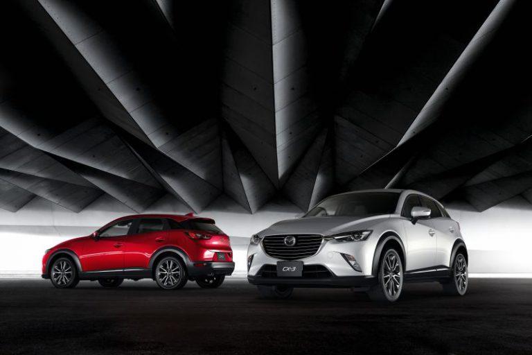 Nuova Mazda CX-3: la SUV di piccole dimensioni