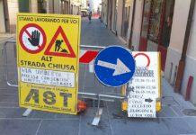 Cartelli stradali provvisori