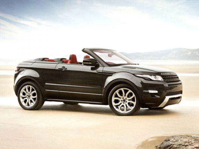 Range Rover Evoque: allo studio la variante cabriolet