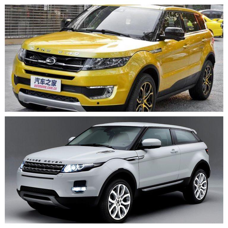 Landwind X7: la reazione di Land Rover alla copia cinese dell'Evoque
