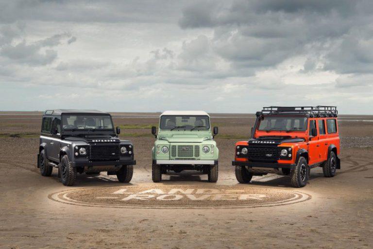 Nuova Land Rover Defender: in arrivo tre versioni speciali