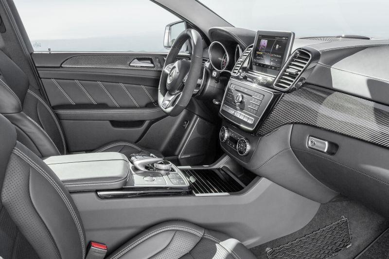 Mercedes GLE63 AMG Coupé