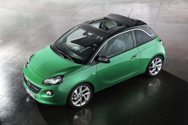 Opel Adam Swing Top prezzo