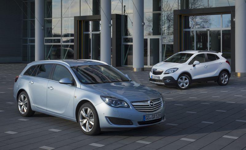 Opel Insignia e Opel Mokka