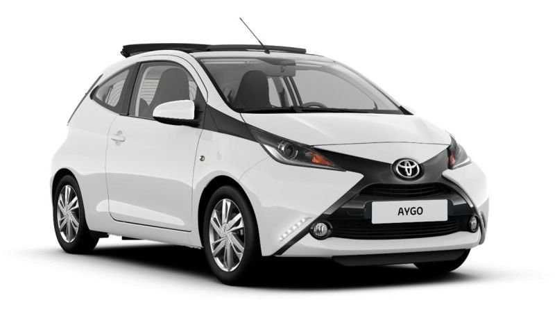 Scheda tecnica Toyota Aygo x-wave