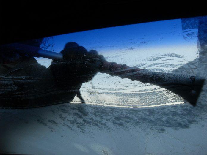 vetro ghiacciato