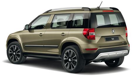 Skoda Yeti: scheda tecnica del SUV di piccole dimensioni