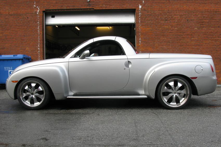 Chevrolet SSR design