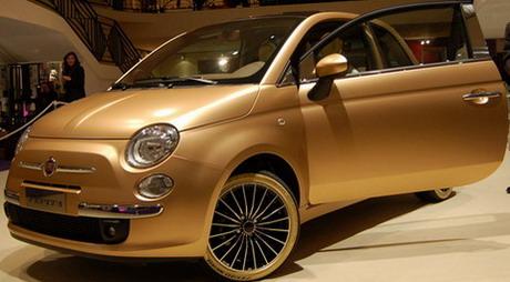 Fiat 500 più costosa del mondo