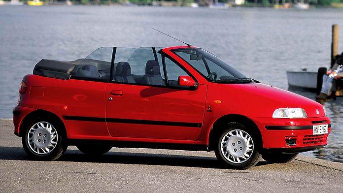 Fiat Punto cabrio Bertone usata