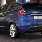 La coda della Ford Fiesta