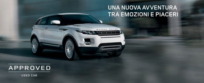 auto usate Land Rover Approved