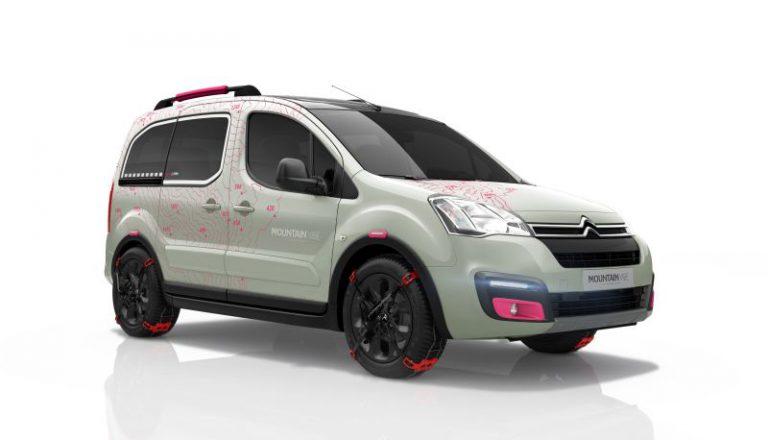 Citroen Berlingo Multispace: la concept car della nuova versione speciale Mountain Vibe