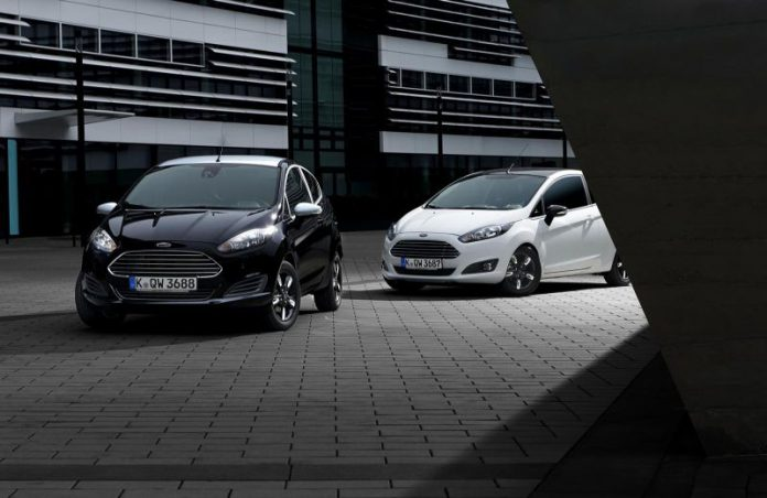 Ford Fiesta Black & White