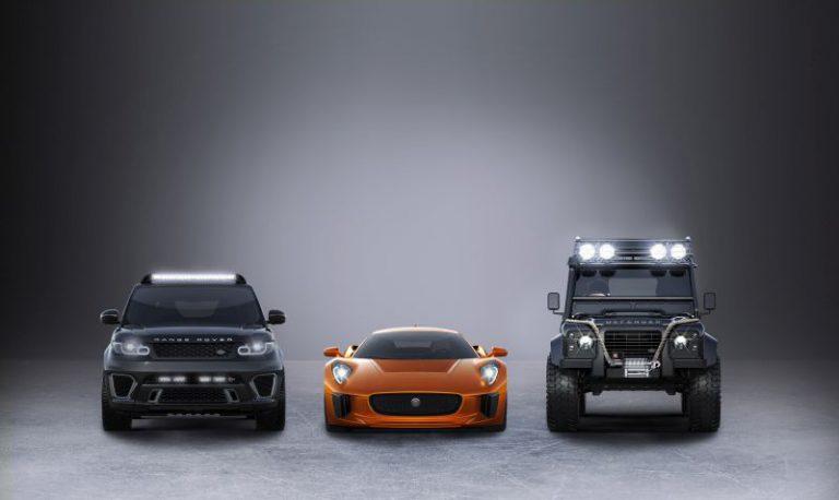 007: i modelli di Jaguar e Land Rover per il nuovo film di James Bond