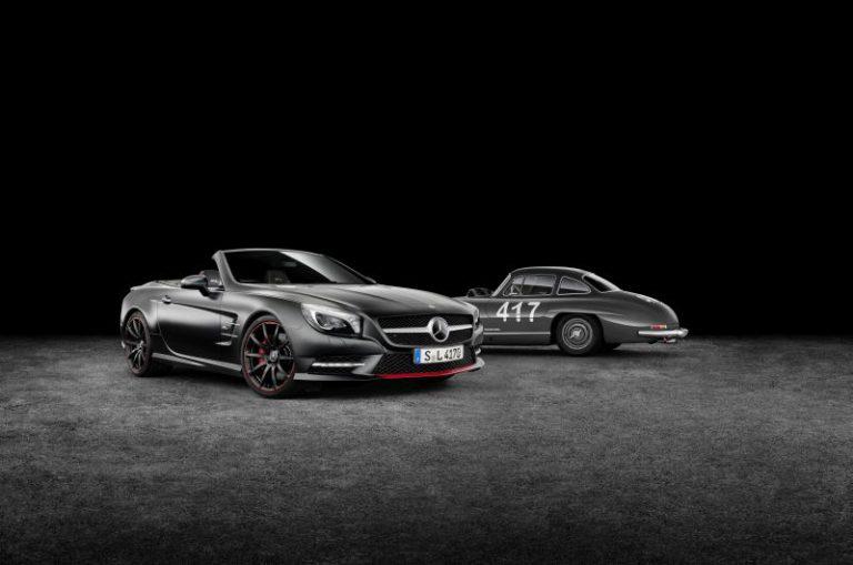 Nuova Mercedes SL: l'esclusiva versione speciale Mille Miglia 417