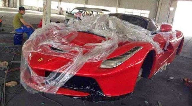 Ferrari cinese prezzo